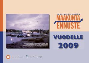 Maakuntaennuste 2009 kansikuva