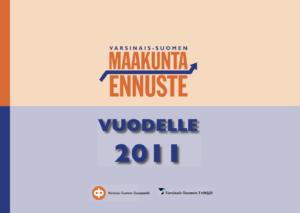 Maakuntaennuste 2011 kansikuva