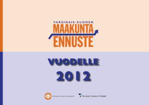 Maakuntaennuste 2012 kansikuva